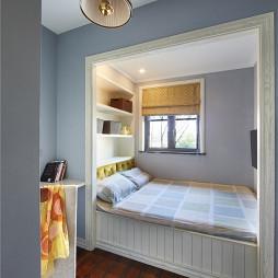 家装美式嵌入式卧室设计