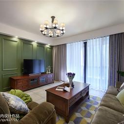 最新美式风格客厅设计案例