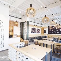 工装常客餐饮空间设计效果图