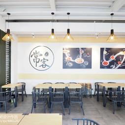常客餐饮空间设计效果图