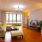 简雅美式客厅装修图