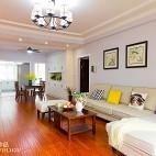 时尚美式家居客厅效果图