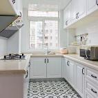 清爽美式厨房设计效果图