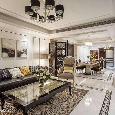 新古典风格居家客厅装修