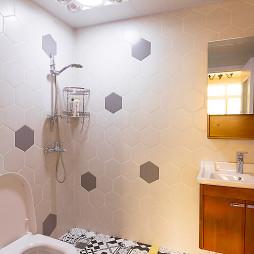 简单美式卫浴设计