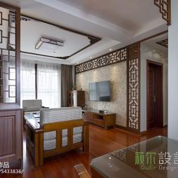 经典中式风格客厅设计案例