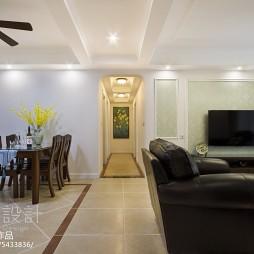 美式风格四居室过道设计