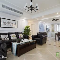 华丽美式风格客厅设计