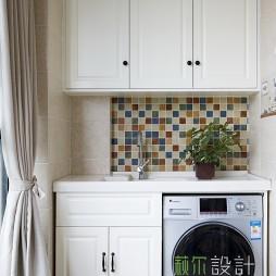 美式风格阳台洗衣房装修