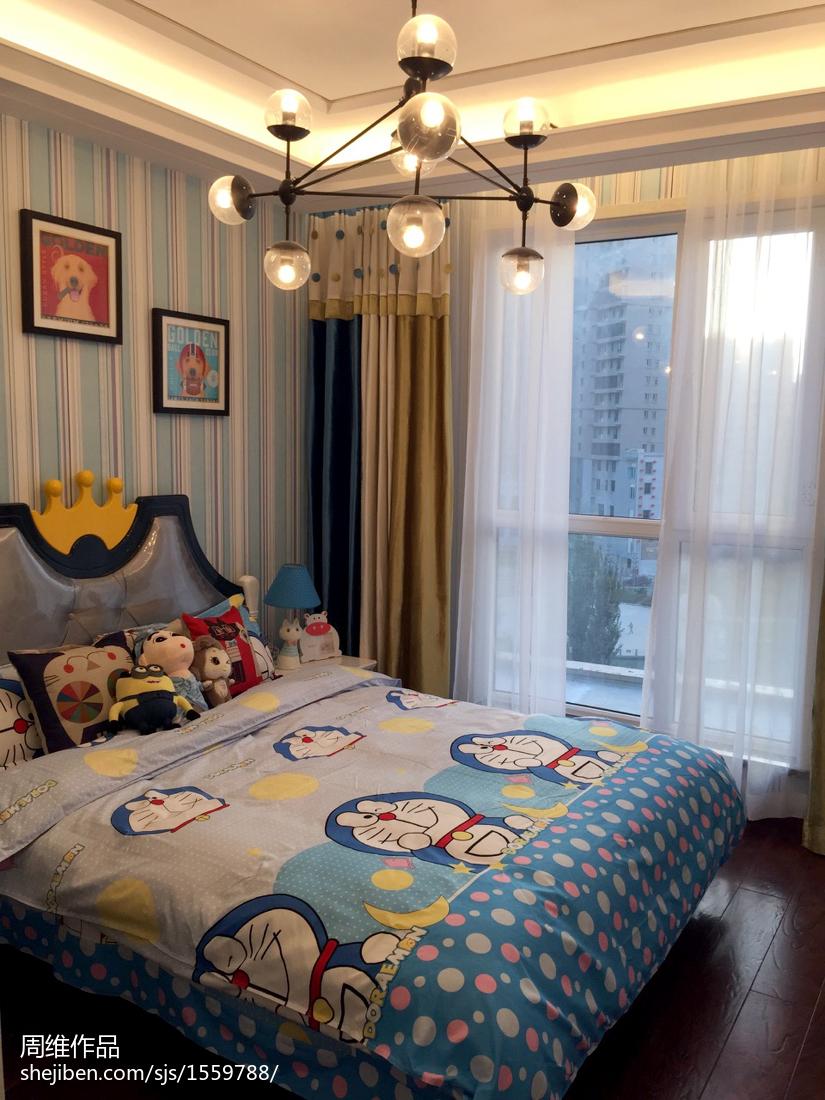 国际资讯_简约现代风样板间儿童房装修 – 设计本装修效果图