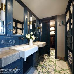 混搭风格别墅卫浴装修案例