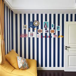 时尚美式别墅照片墙设计