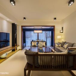 简单中式风格客厅设计