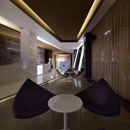办公楼接待中心休息区设计