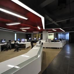 前线机构办公空间室内设计