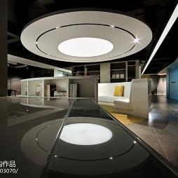 前线机构办公空间吊顶设计