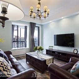 现代美式客厅装修案例