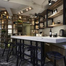 现代新古典办公室吧台设计