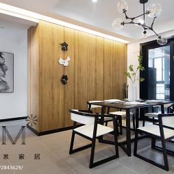 简洁美式餐厅装修案例