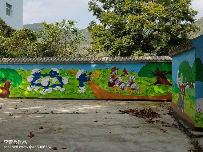 幼儿园手绘墙_2496953