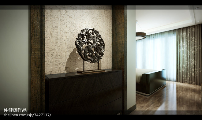 南池公馆新中式设计方案_249815