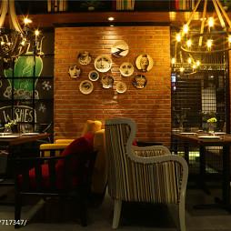 内蒙古·蜜岛西餐厅用餐区设计