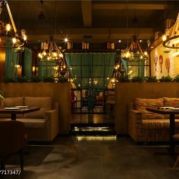 内蒙古·蜜岛西餐厅用餐区装修案例