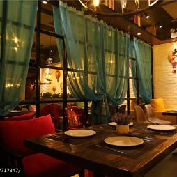 内蒙古·蜜岛西餐厅用餐区效果图