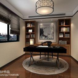 长城锦苑新中式装修设计效果图_2498821