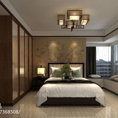 长城锦苑新中式装修设计效果图_2498822