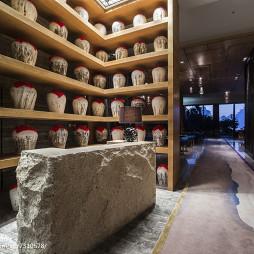 三亚海棠湾度假酒店复古酒柜设计