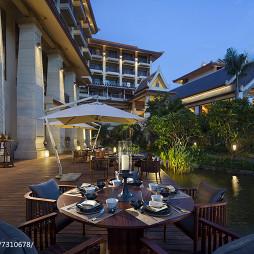 喜来登度假酒店室外休闲区设计