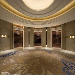 喜来登度假酒店电梯间装修