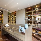 家居现代风格复式书房设计