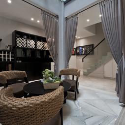 别墅现代风格休闲区装修