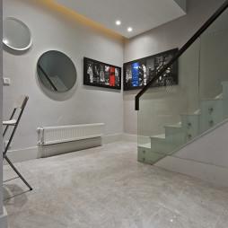 别墅现代风格过道装修
