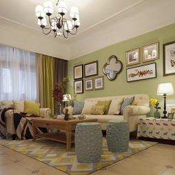 经典美式客厅装修大全