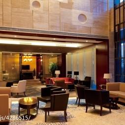 名人酒店大厅设计