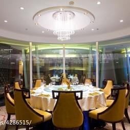名人酒店餐厅装修