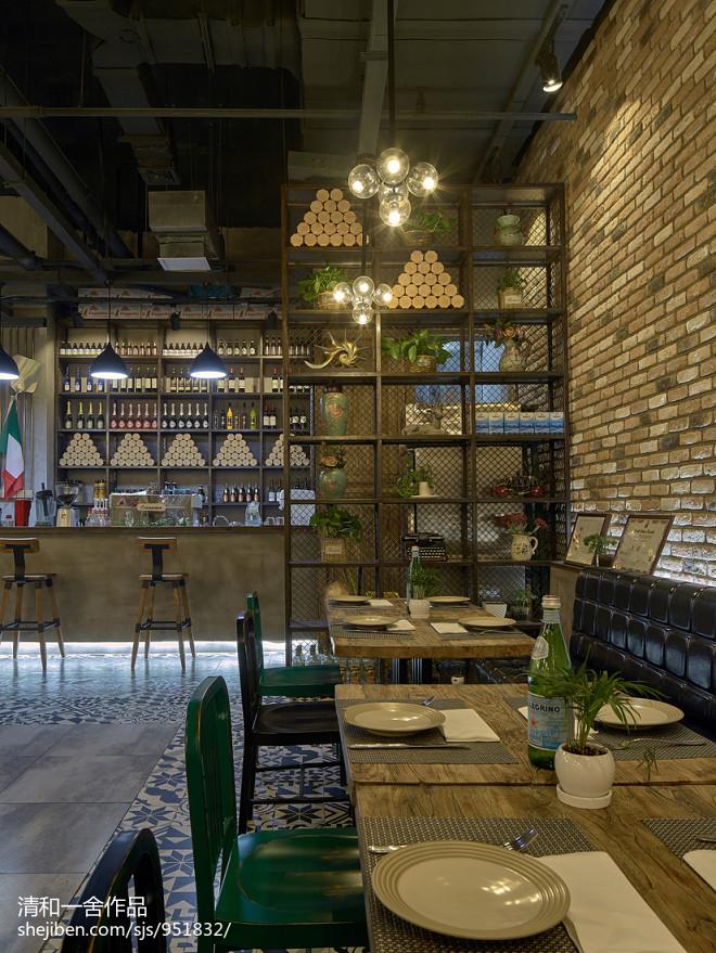 MODICA西餐厅隔断设计
