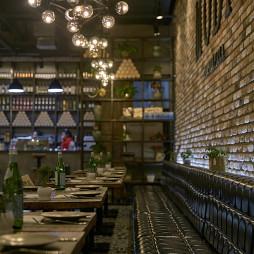 MODICA西餐厅卡位设计