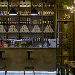 MODICA西餐厅吧台设计