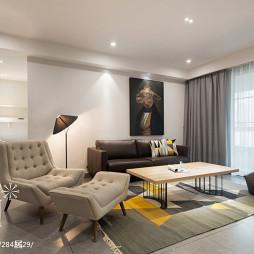 家装现代风格客厅装修图片
