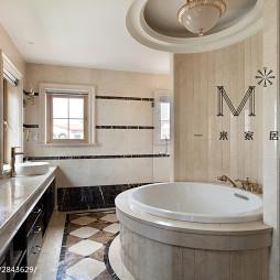 精致美式卫浴装修