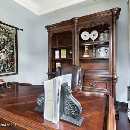 古典美式书房设计案例