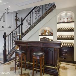 古典美式吧台设计案例