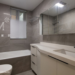 简单现代风格卫浴图片