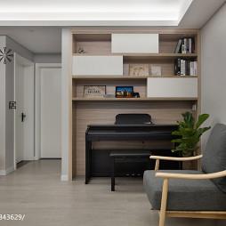 家装现代风格小书房装修