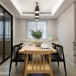 简单现代风格餐厅设计