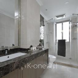 新古典四居室卫浴设计